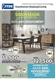 JYSK akciós újság 2021. 08.26-09.08