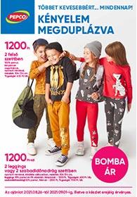 PEPCO akciós újság 2021. 08.26–09.01