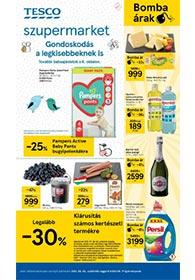 Tesco Szupermarket akciós újság 2021. 08.05-08.11