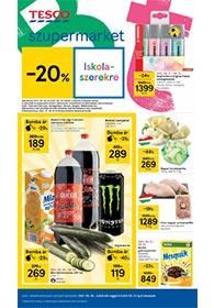 Tesco Szupermarket akciós újság 2021. 08.26-09.01
