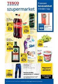 Tesco Szupermarket akciós újság 2021. 09.02-09.08