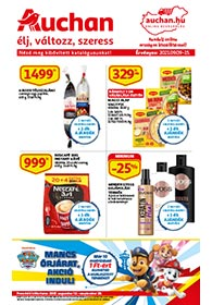Auchan akciós újság 2021. 09.09-09.15