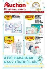 Auchan Baba katalógus 2021. 09.02-09.15