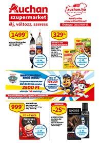 Auchan Szupermarket akciós újság 2021. 09.09-09.15