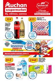 Auchan Szupermarket akciós újság 2021. 09.16-09.22