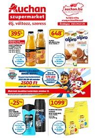 Auchan Szupermarket akciós újság 2021. 09.23-09.29