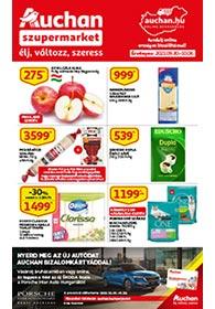 Auchan Szupermarket akciós újság 2021. 09.30-10.06