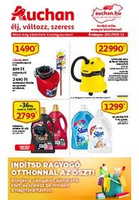 Auchan Takarítás katalógus 2021. 09.02-09.15