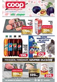 Alföld Coop akciós újság 2021. 09.15-09.21