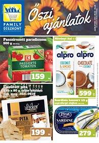 Family Diszkont akciós újság 2021. 09.02-09.08