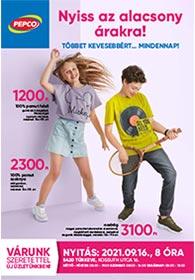 PEPCO Túrkeve akciós újság 2021. 09.16–09.22