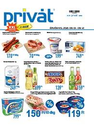Privát Élelmiszer akciós újság 2021. 09.01-09.12