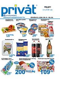 Privát Élelmiszer akciós újság 2021. 09.15-09.26