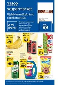 Tesco Szupermarket akciós újság 2021. 09.09-09.15