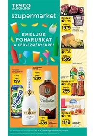 Tesco Szupermarket akciós újság 2021. 09.16-09.22