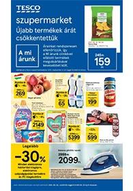 Tesco Szupermarket akciós újság 2021. 09.23-09.29