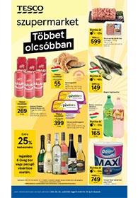 Tesco Szupermarket akciós újság 2021. 09.30-10.06