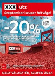 XXXLutz akciós újság 2021. 09.13-09.26