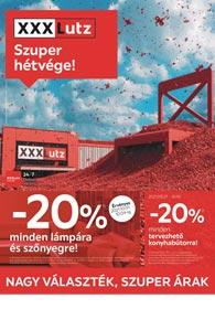 XXXLutz akciós újság 2021. 09.27-10.10