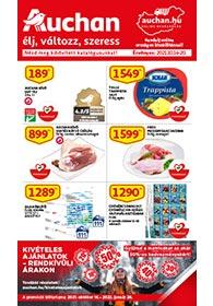 Auchan akciós újság 2021. 10.14-10.20