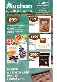 Auchan Csokoládé katalógus 2021. 10.14-10.27