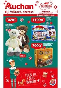Auchan Játékkatalógus 2021. 10.21-12.01