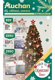 Auchan Karácsonyi dekor katalógus 2021. 10.14-12.01