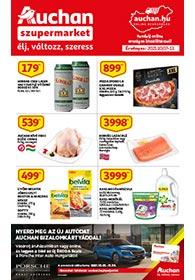 Auchan Szupermarket akciós újság 2021. 10.07-10.13