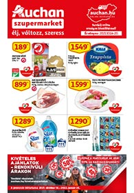 Auchan Szupermarket akciós újság 2021. 10.14-10.20