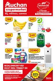 Auchan Szupermarket akciós újság 2021. 10.21-10.27