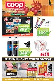 Alföld Coop akciós újság 2021. 10.20-11.02