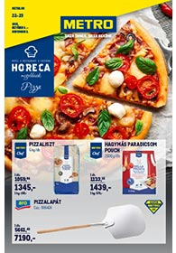 Metro HORECA Pizza katalógus 2021. 10.06-11.02