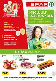 Spar Market Göd akciós újság 2021. 10.14-10.20