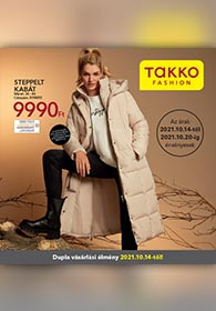 Takko akciós újság 2021. 10.14-10.20