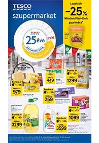 Tesco Szupermarket akciós újság 2021. 10.21-10.27